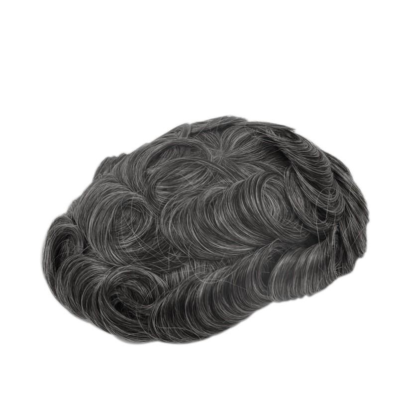 Apollo Men's Toupee Online | Mono with Scallop Front | Men's Hairstyle in Trend
