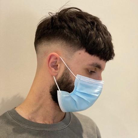Toupee para hombre Apollo en línea | Mono con frente festoneado | El peinado de los hombres en tendencia