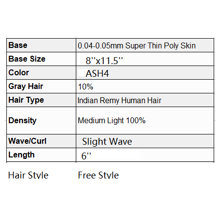 Custom Made Hair System