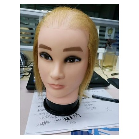 Mannequin head for video