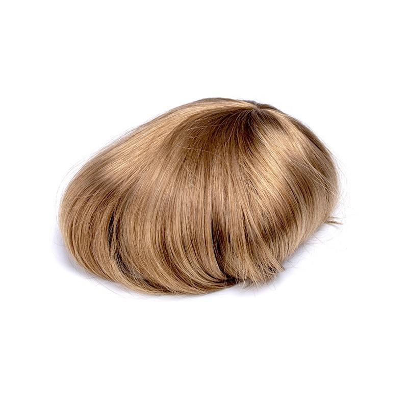 Cronus Men's Hair Thinning Treatment | Full Polyskin Base | European Hair