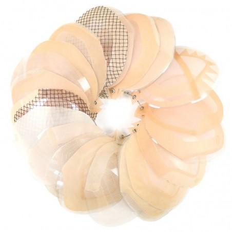 Custom Men's Hair Pieces Base Construction Samples Ring