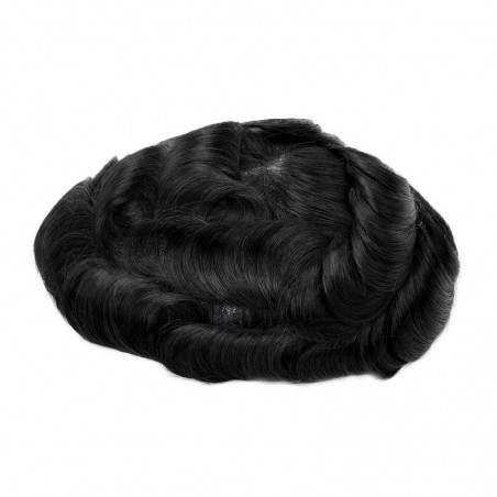 Lapetus Men's Hair Pieces Online | Durable Mono with Poly Coating All Around the Base | Economical Choice