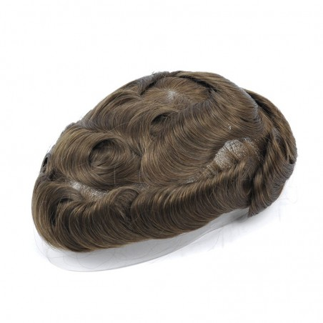 Apollo Men's Toupee Online | Mono with Scallop Front | Men's Hairstyle in Trend