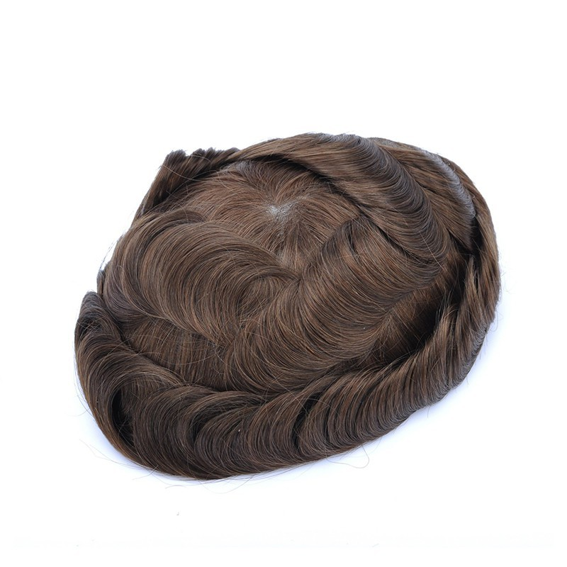 Mirage Toupee for Men |Full Super Thin Skin Base |Celebrities Choice