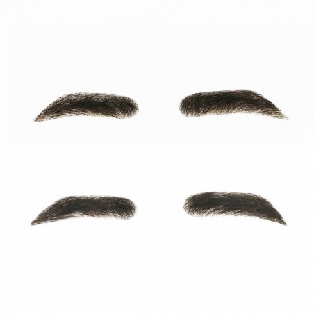 Men Eyebrow Wigs | Human Hair Glue On Fake Eyebrow for Men