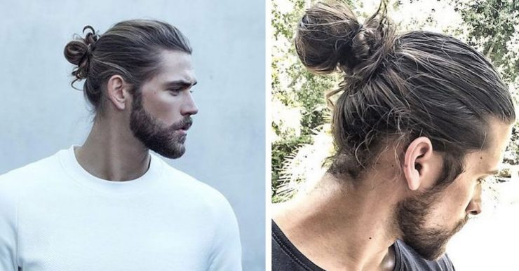 tight hairstyle