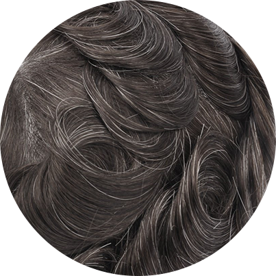 310 - Dark Brown with 10% Gray Hair