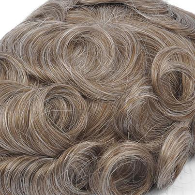 1740 - Darkest Beige Blonde with 40% Gray Hair