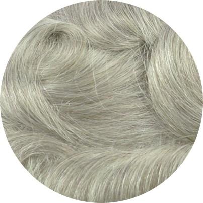 1780 - Darkest Beige Blonde with 80% Gray Hair