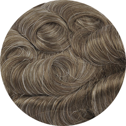 720 - Lightest Brown with 20% Gray Hair